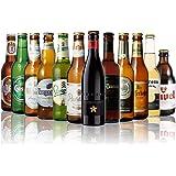 世界のビール12本飲み比べギフトセット スペイン産高級ビール入!スペイン・ドイツ・ベルギーなどビール本場より大集結!全種類の商品説明がわかるビールリスト付 (12弾)
