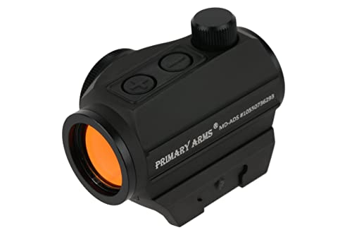 Primary Arms 2 MOA Advanced Micro Red Dot (MD-ADS) Riflescope (Angled Front Lens), Black
