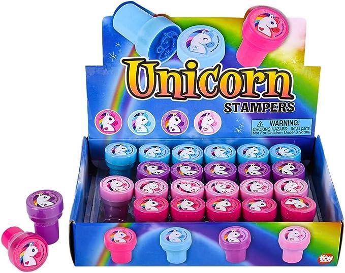 Amazon.com: Sellos de unicornio para fiestas – fiesta de ...