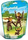 Playmobil - Familia del chimpancé (6650)