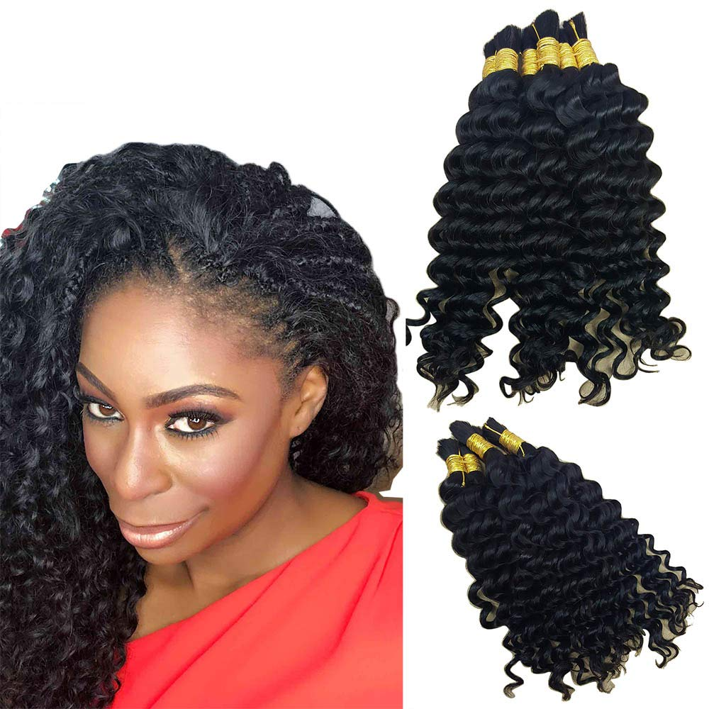 human braiding hair wet and wavy