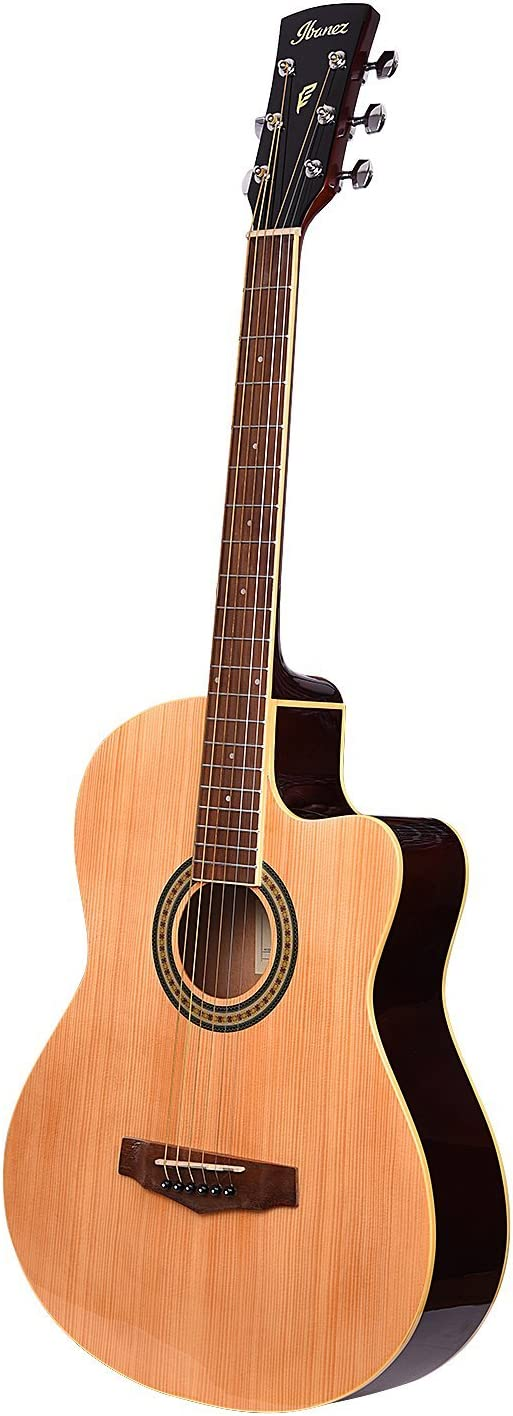 3. Ibanez MD39C-NT Natural Acoustic Guitar