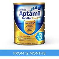 Aptamil Gold+ 3 Toddler for 1 Year Babies, 900g