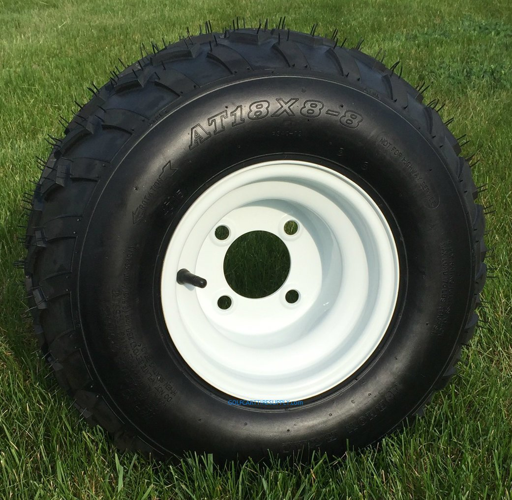 Amazon.com: RHOX RXAL 18x8-8 All Terrain Golf Cart Tires and 8 ... on tractor tires, 18x8.5 tires, go ped tires, trailer tires, mud traction tires, golf equipment, golf balls, v roll paddle tires, truck tires, 23x10.5-12 tires, golf cars, car tires, forklift tires, 20x10-10 tires, atv tires, golf clubs, bicycle tires, golf bags, utv tires, sahara classic tires, skid steer tires, golf apparel, motorcycle tires, ditcher tires, scooter tires, golf accessories, 18 x 8.50 x 8 tires, carlisle tires, light truck tires, sweeper tires, industrial tires,