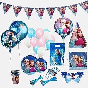 Amazon.com: Disney Frozen - Suministros de fiesta de ...
