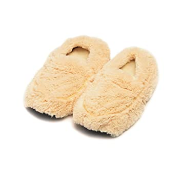 b04d05c9b8b Image Unavailable. Image not available for. Color  Intelex Fully  Microwavable Luxury Cosy Boot Slippers ...