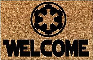 Welcome Home Galactic Empire! Star Wars Easy Clean Door Mat Wedding, Anniversary, Birthday Doormat Gift