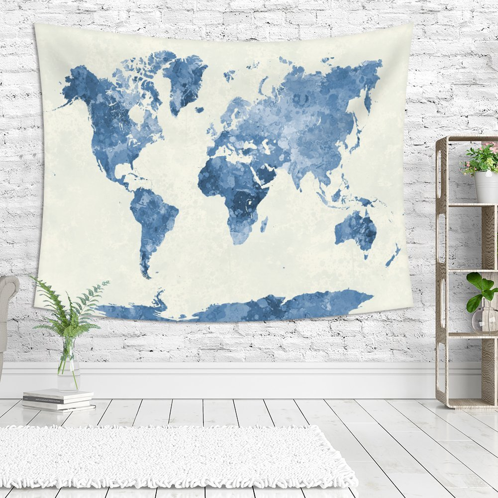 3D Artistic White Marble Tapestries Fabric Wall Hanging for Bedroom Dorm Living Room Home Decoration Arflee Crack Marble Wall Tapestry 60W x 80L 60/'/'W x 80/'/'L