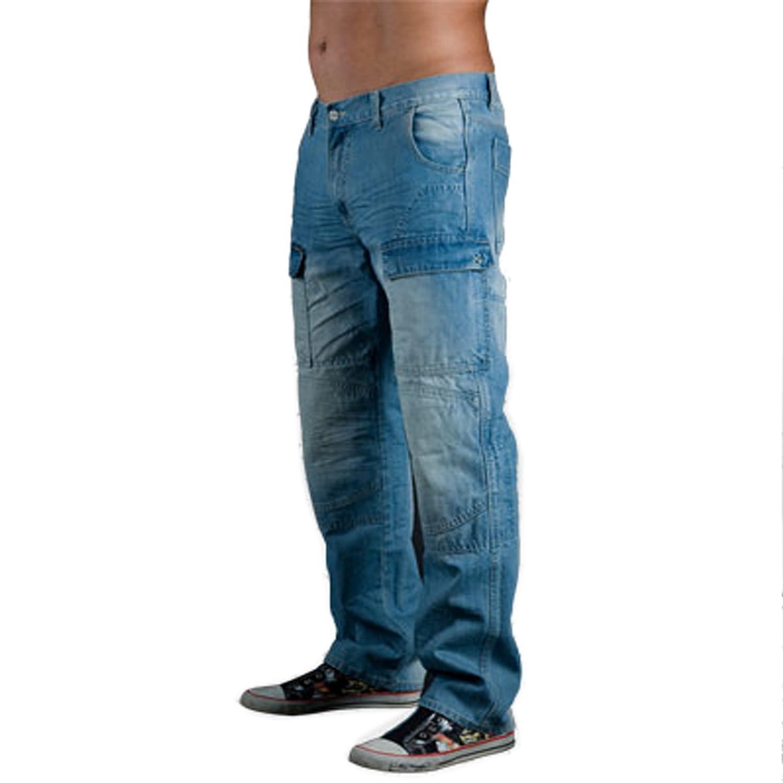 6bea80ffe1 Juicy Trendz Hombre Motocicleta Pantalones Moto Pantalón Mezclilla Jeans  Con Protección Aramida Azul W32-L30  Amazon.es  Coche y moto