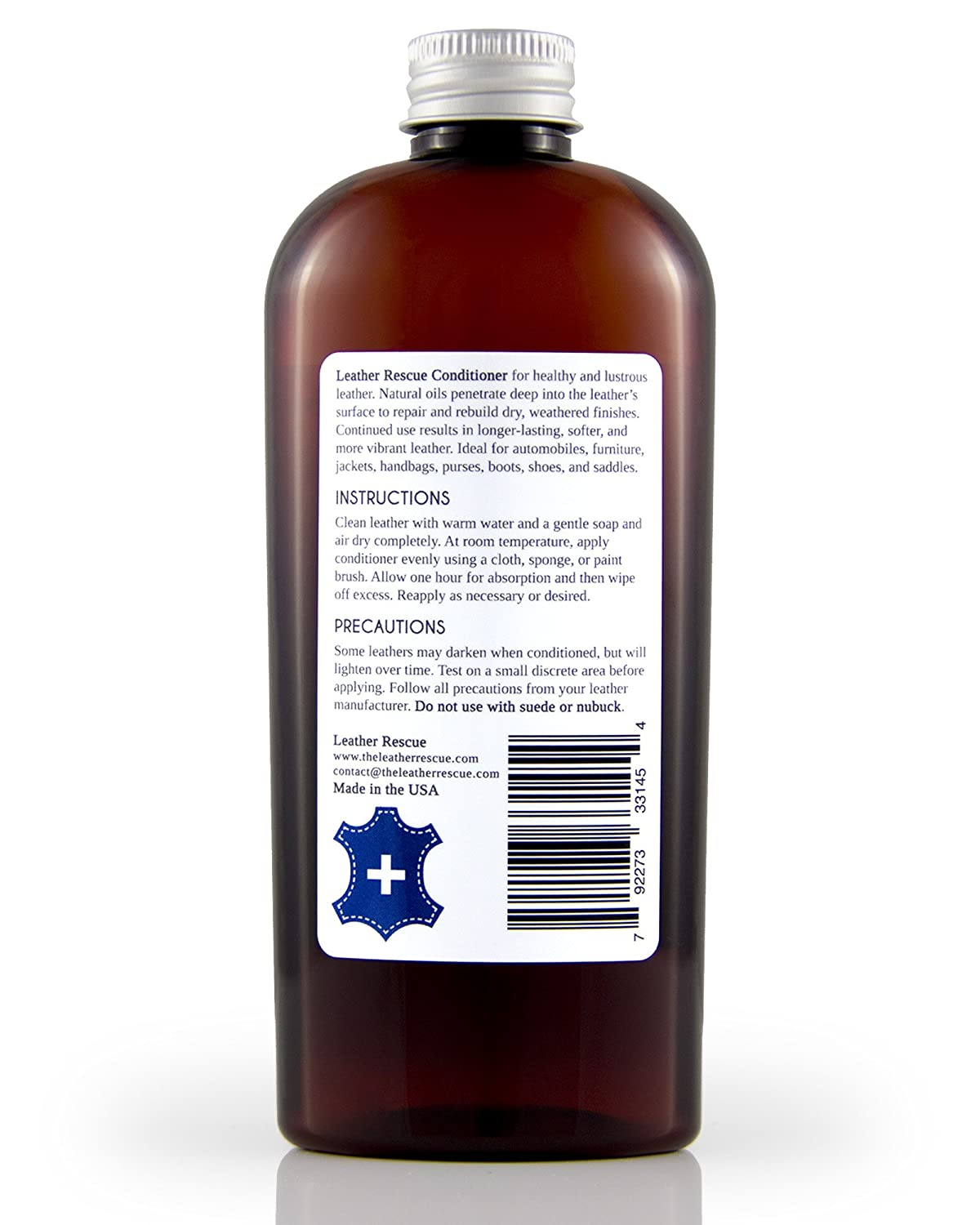 Amazon.com: Leather Rescue Leather Conditioner and Restorer ...