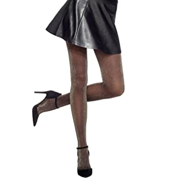 c802aebd80fa3 Hue Metallic Tights, Size Small/Medium - Metallic at Amazon Women's  Clothing store: