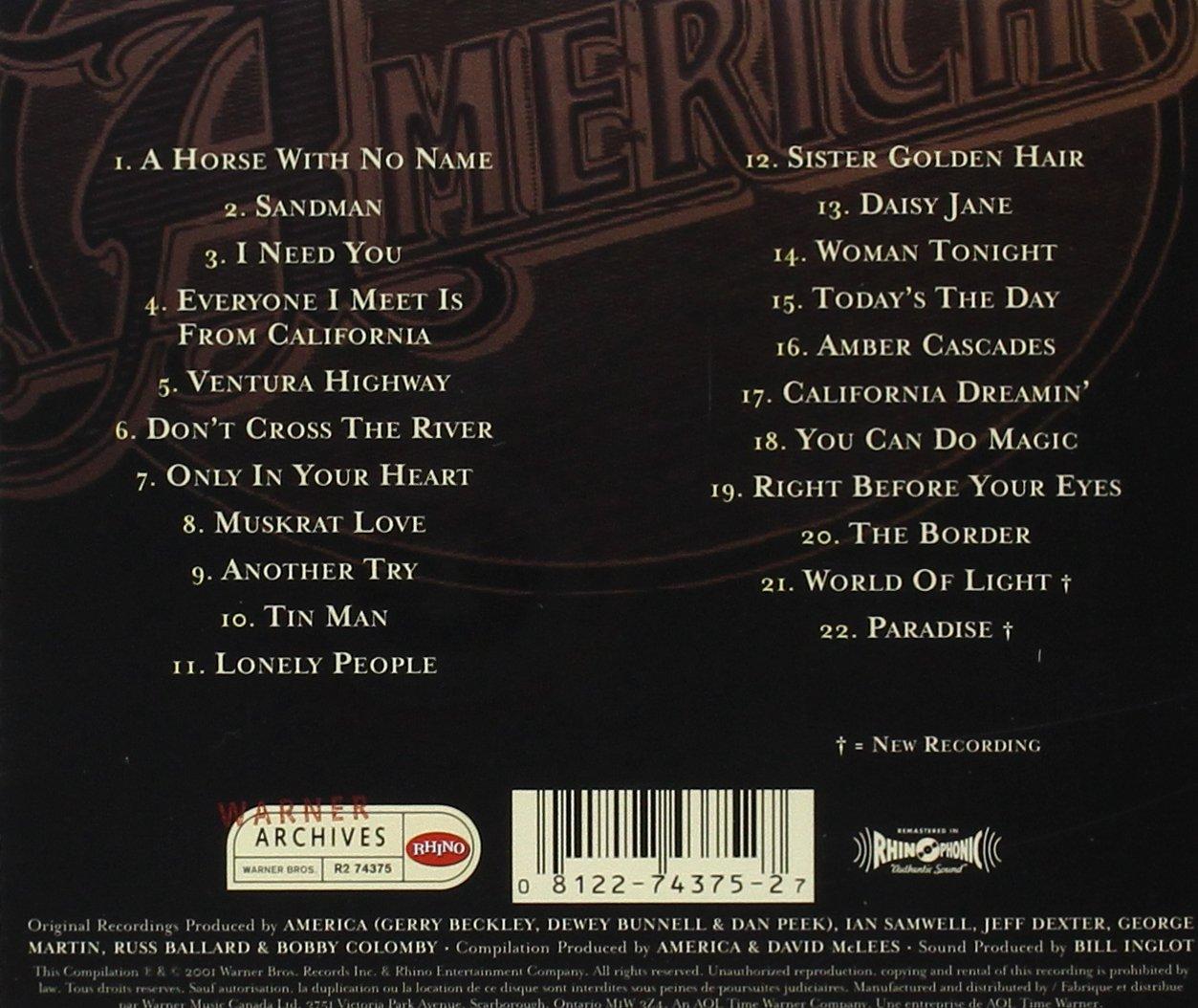 America America The Complete Greatest Hits Amazon Music