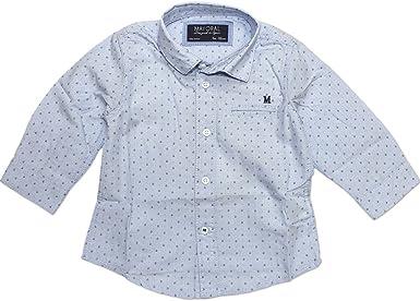 Mayoral - Camisa - para bebé niño azul claro 12/80 EU: Amazon ...
