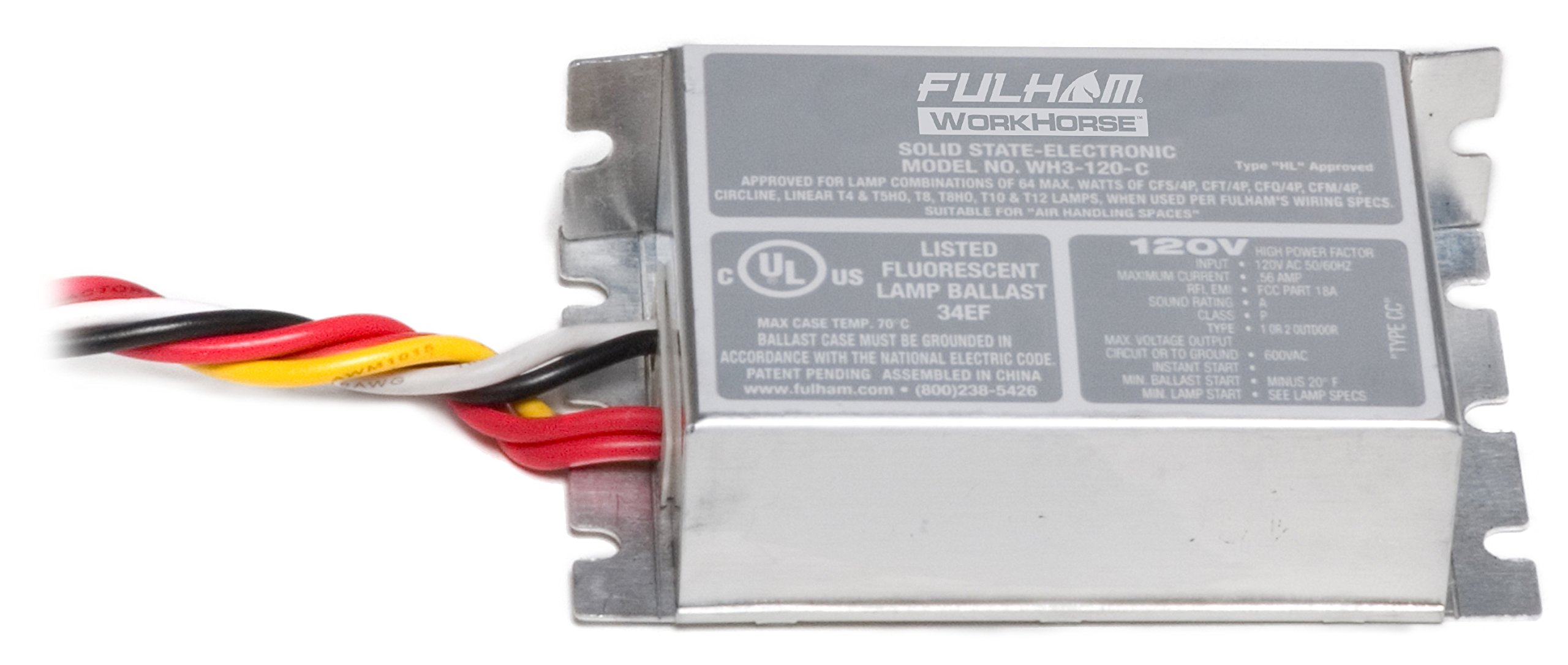 Fulham WorkHorse Adaptable Ballast, WH3-120-C