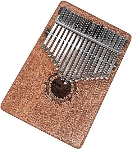 Okoume Kalimba 17 keys Thumb Piano Finger Piano Musical Gift