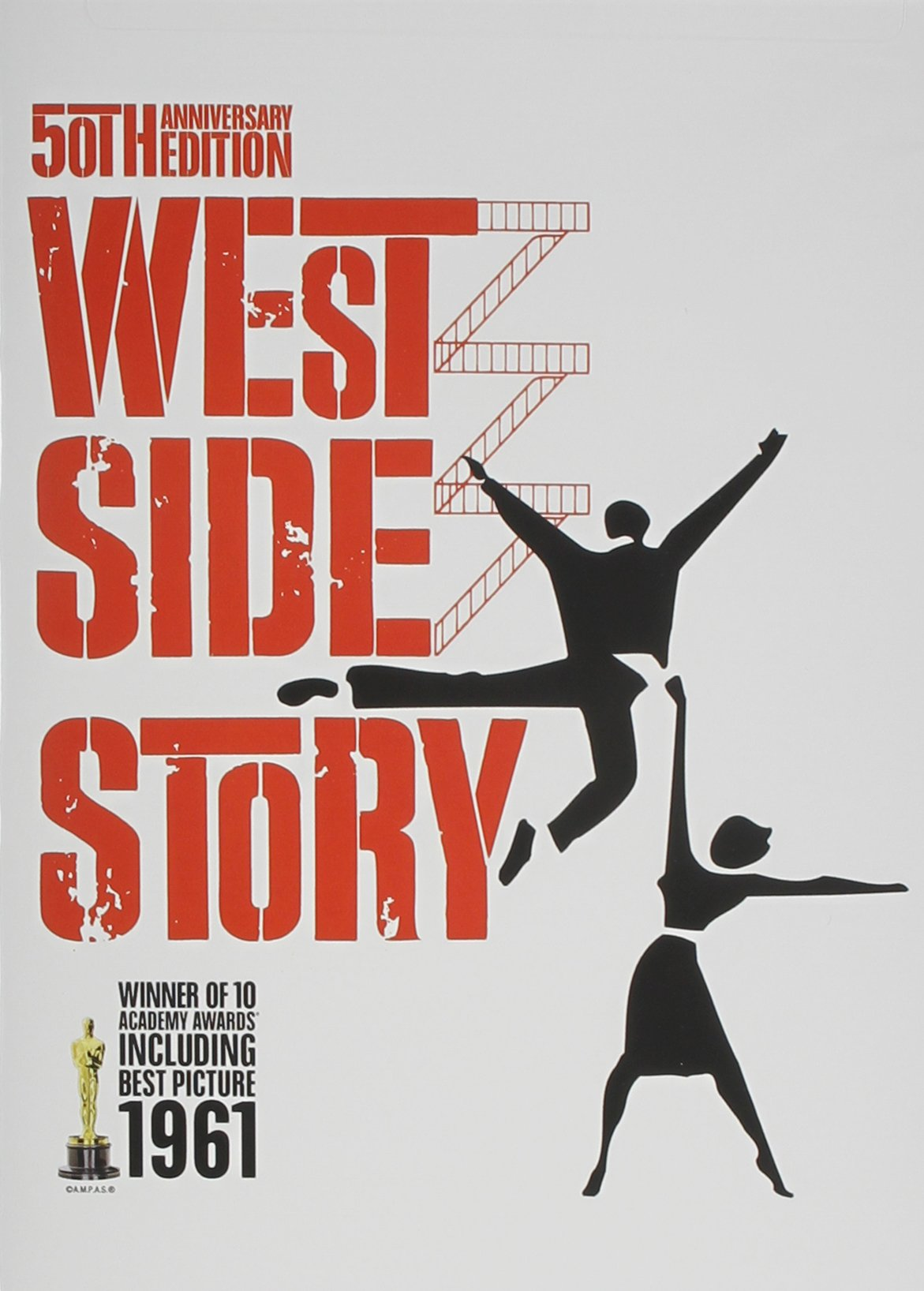 DVD : West Side Story (Restored, AC-3, Dolby, Widescreen, Repackaged)