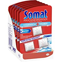 Dishwasher Intensive Cleaner Tabs   Hygienic and Clean   18 Tabs   6 Pack   Somat   Germany