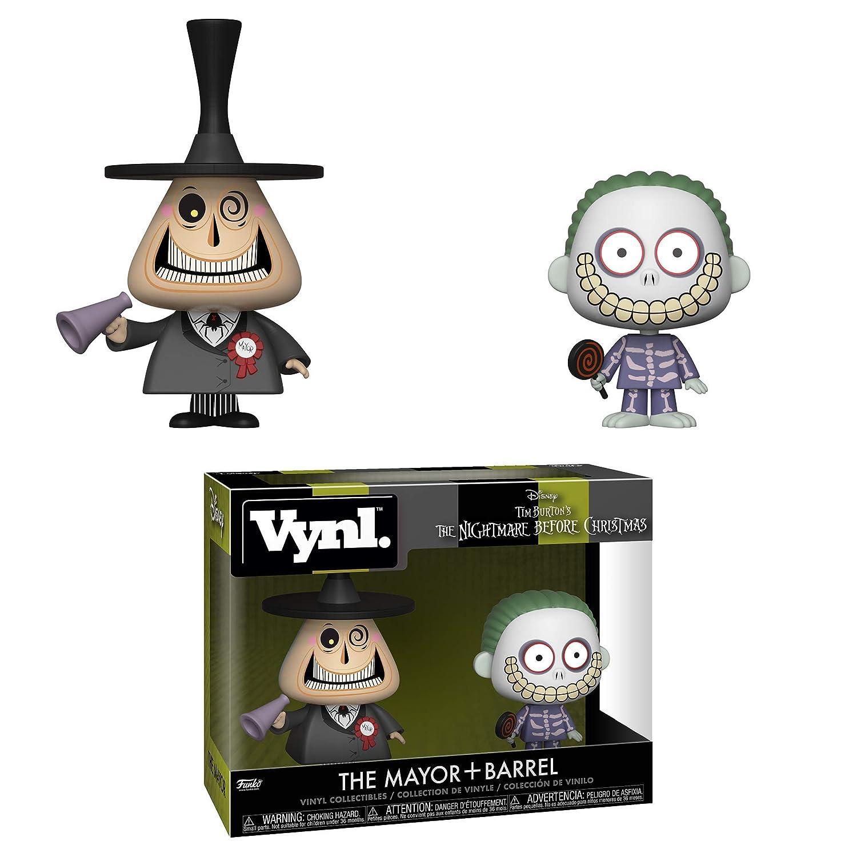 Amazon.com: Funko Vynl: Nightmare Before Christmas - Mayor and ...