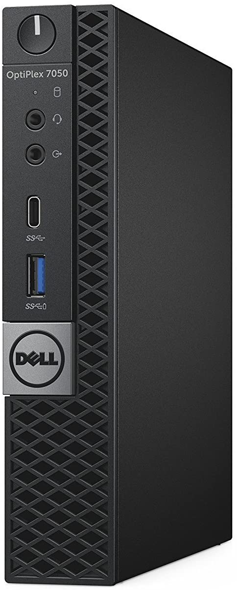Dell OptiPlex 7050 Micro Form Factor Desktop Computer, Intel Core i7-7700 up to 4.20 GHz, 16GB DDR4 RAM, 512GB Solid State Drive, Windows 10 Pro (Renewed)