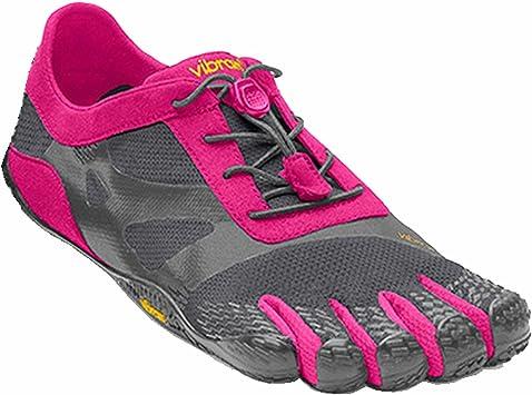 Vibram Fivefingers KSO EVO Women - Zapatillas de Cinco Dedos para Mujer, Color - Grey/Pink, tamaño 39: Amazon.es: Deportes y aire libre