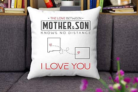 The Love Between Mother Son Knows No Distance New Mexico State And Wyoming I