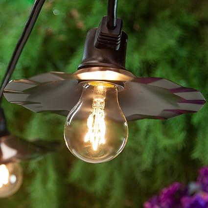Edison Patio Lights, Outdoor Edison Patio Lights, Commercial Cafe Lights,  Patio String Edison