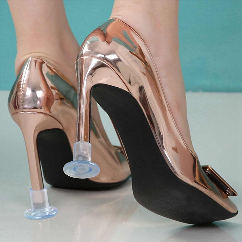 3 Tailles Heel Protectors Stoppers Couvertures pour Courses Protection Talon Chaussure Occasions Formelles Wady Protege Talon 6 Paires Mariages