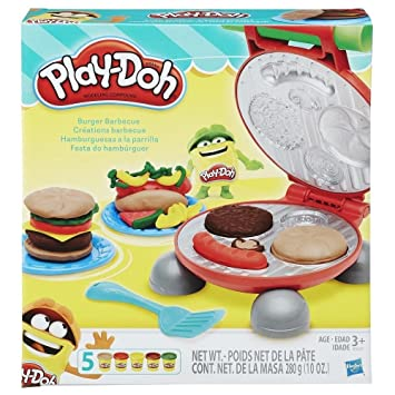 Play Doh 0816b5521eu6 Burger Set Amazon Co Uk Toys Games