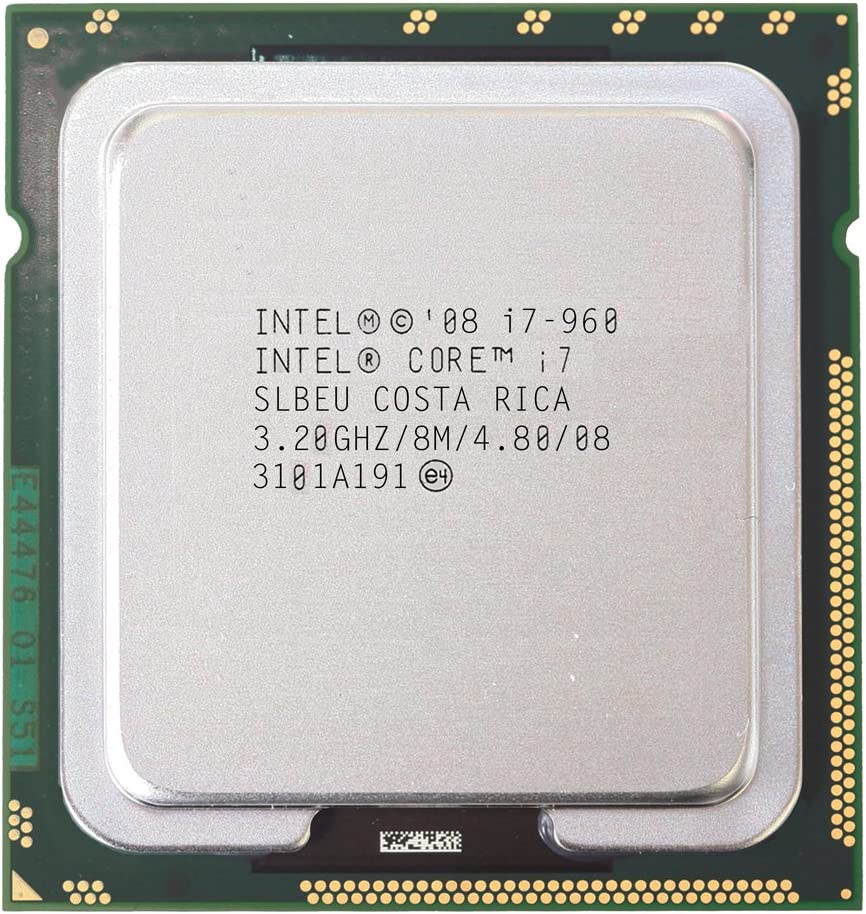 Original Intel Core I7 960 Processor 3.2GHz Quad Core LGA 1366 130W 8M Cache Desktop I7-960 CPU