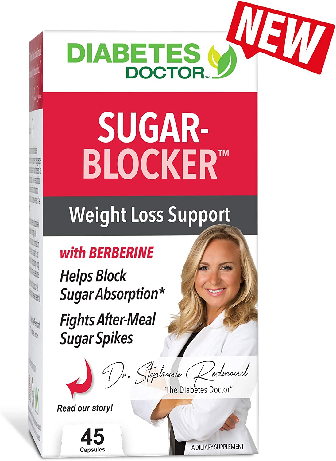 Diabetes Doctor Mealtime Sugar-Blocker – Reduce Blood Sugar Spikes and Carbohydrate Absorption -Stable Blood Glucose Levels for Type 2 Diabetes Support and Weight Loss Support