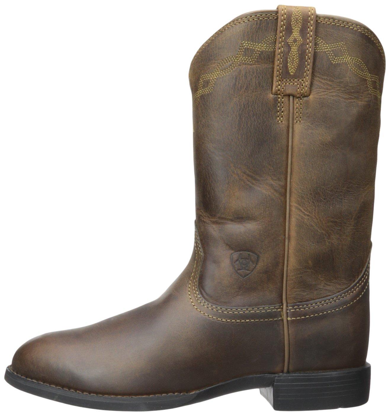 Ariat Boot Women's Heritage Roper Western Cowboy Boot Ariat B005064QOA 6 MW|Distressed Brown fc4601