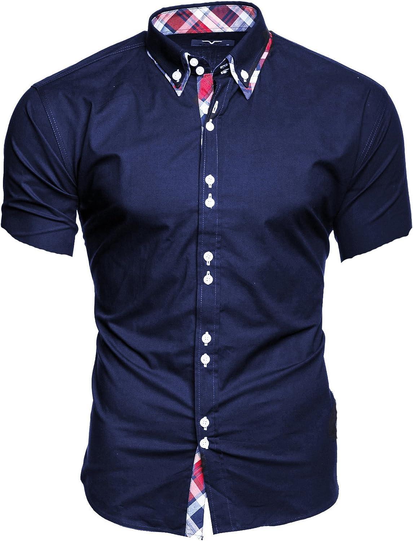 Kayhan Hawaii Chemise /à manches courtes pour homme S-6XL