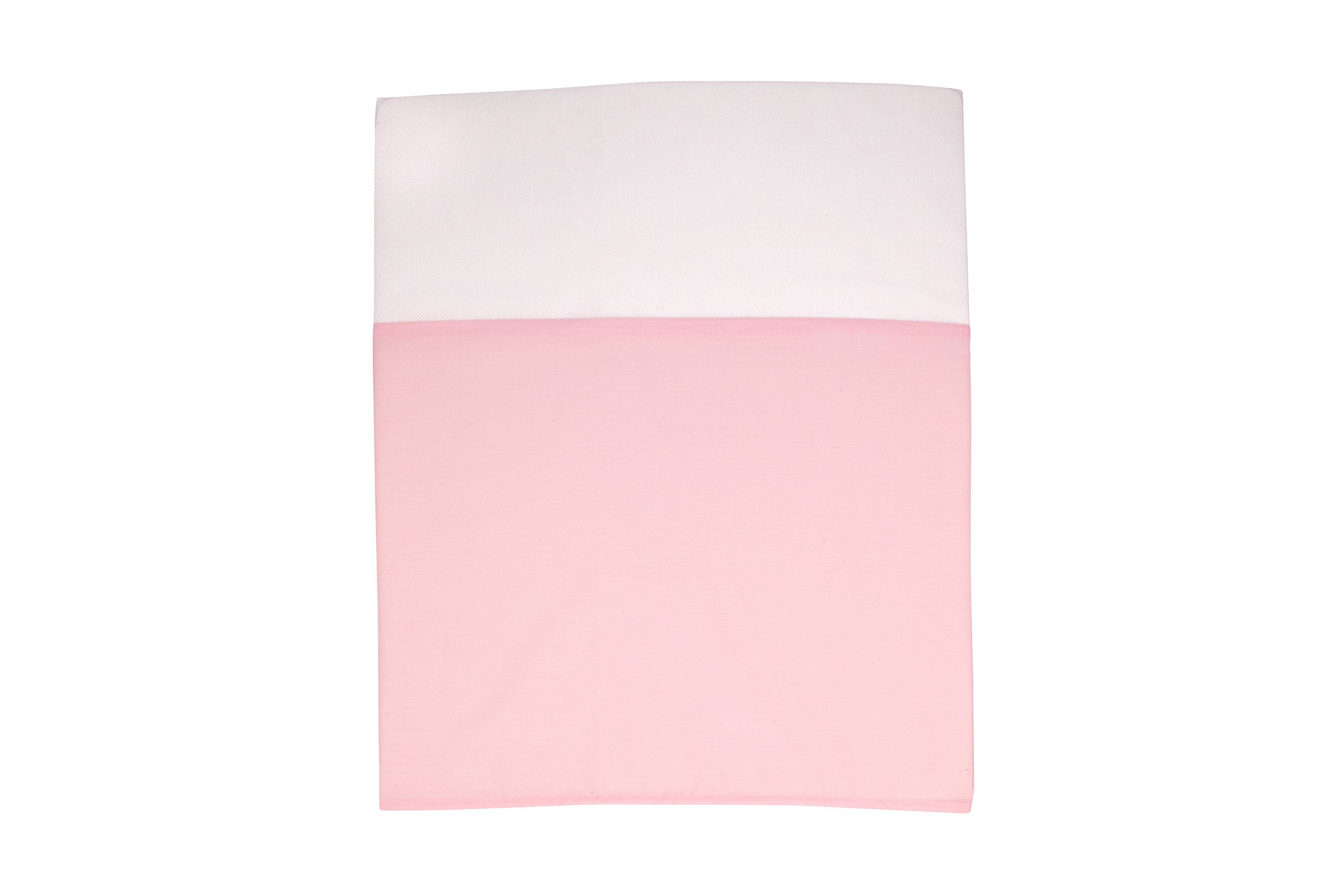 Little Love by NoJo Separates Collection Solid Crib Skirt, Pink