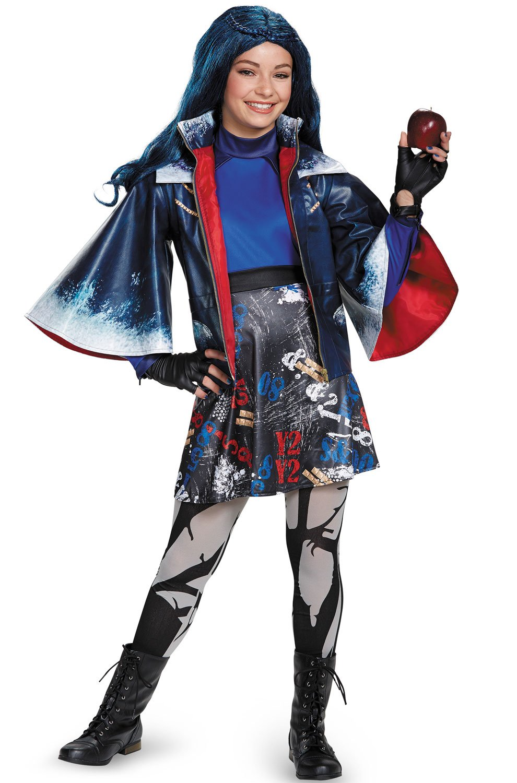 Evie Prestige Descendants Disney Costume, Medium/7-8 by Disguise