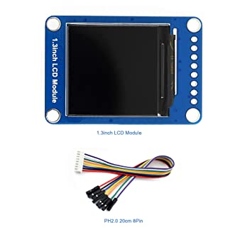 Enjoyable Amazon Com 1 3 Inch Lcd Display Expansion Module Ips Screen Wiring 101 Israstreekradiomeanderfmnl