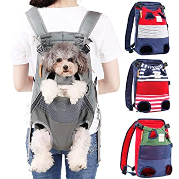 Amazon.com: Youbedo – Mochila para transportar perros, patas ...