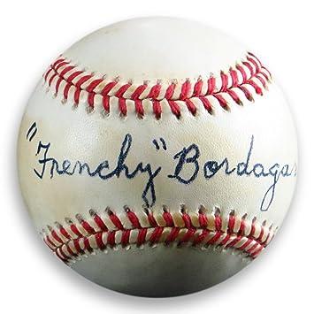 e73d866bbe0 Frenchy Bordagaray Signed Autographed Official NL Baseball Brooklyn Dodgers  JSA