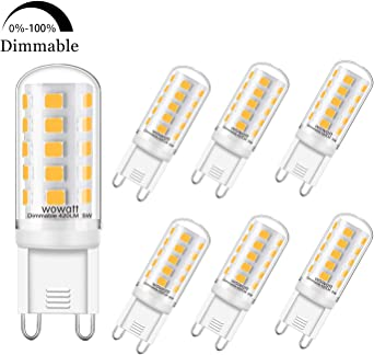 G9 Led Regulable Wowatt Bombilla Led G9 5w Dimmable 420lm Luz