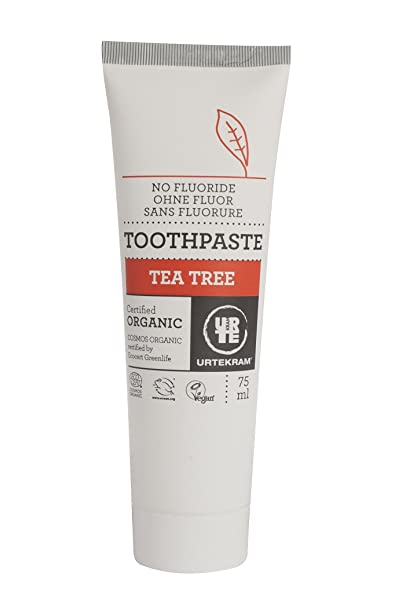 Review Organic Tea Tree Toothpaste-