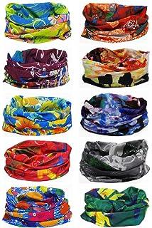 Outdoor Multi-use Seamless Headband Tube Bandana Headwrap Headscarves  Fashion Magic Scarf 10 Pack 0ffe036e72f6