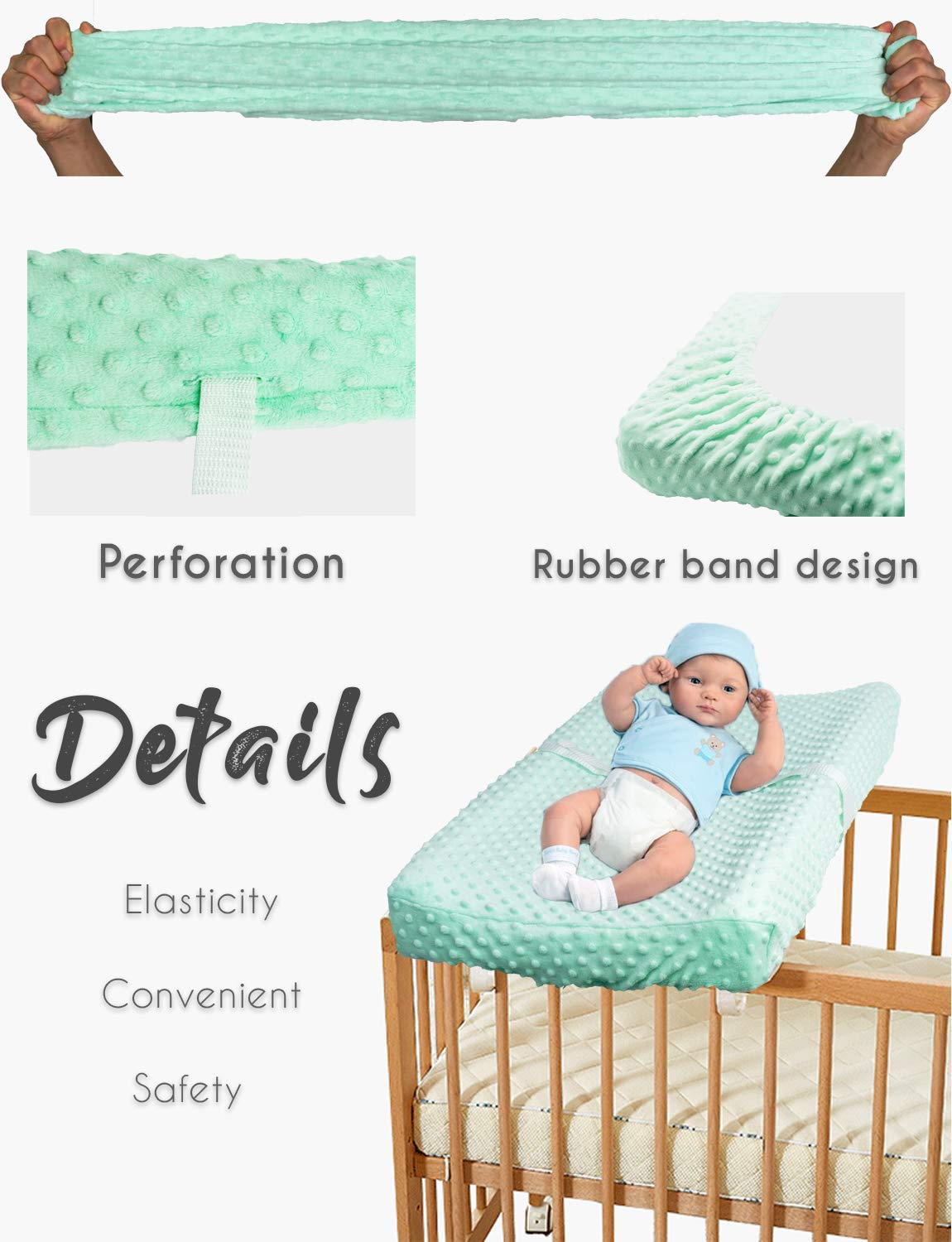 Baby Changing Pad Cover Ultra Soft Changing Table Pad Cover for Diaper Changing Pad/100/% Cotton/Change Table Sheets for Baby Girls and Boys Boat