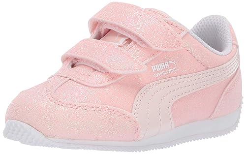 f149d3ea3ce3 Puma Baby Girls   Whirlwind Glitz V Kids Sneaker  Amazon.co.uk ...
