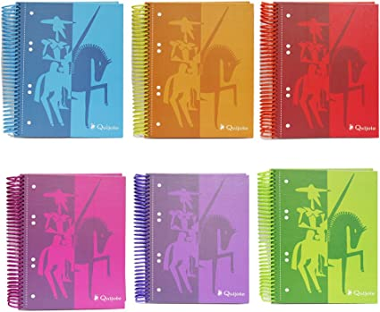 250144 - Pack de 2 Cuadernos tapa dura, tamaño A5, 120 hojas ...