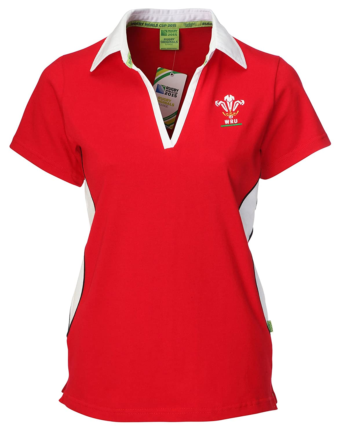Design shirt kooga - Official Ladies Wru Wales Rugby Union Short Sleeve Welsh Rugby Shirt