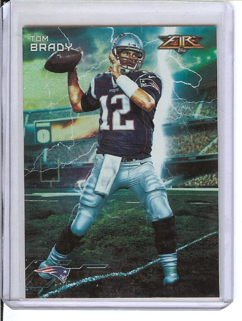 Football NFL 2015 Fire Forces Of Nature #FON-TB Tom Brady Patriots