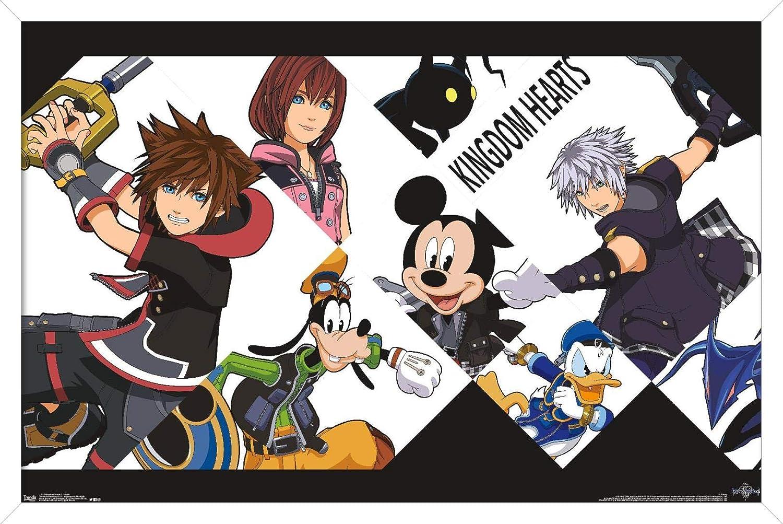 Trends International Disney Kingdom Hearts 3 - Battle Wall Poster, 14.725