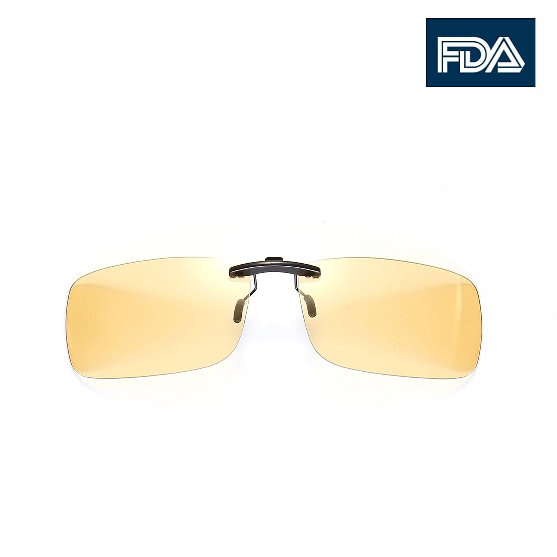 Melanin美国专利FDA认证蓝光镜片