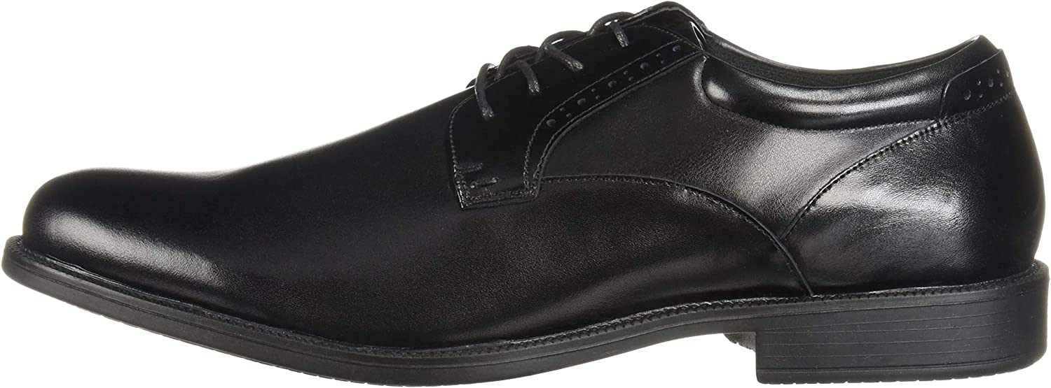 Nunn Bush Mens Nantucket Waterproof Plain Toe Oxford Lace-Up