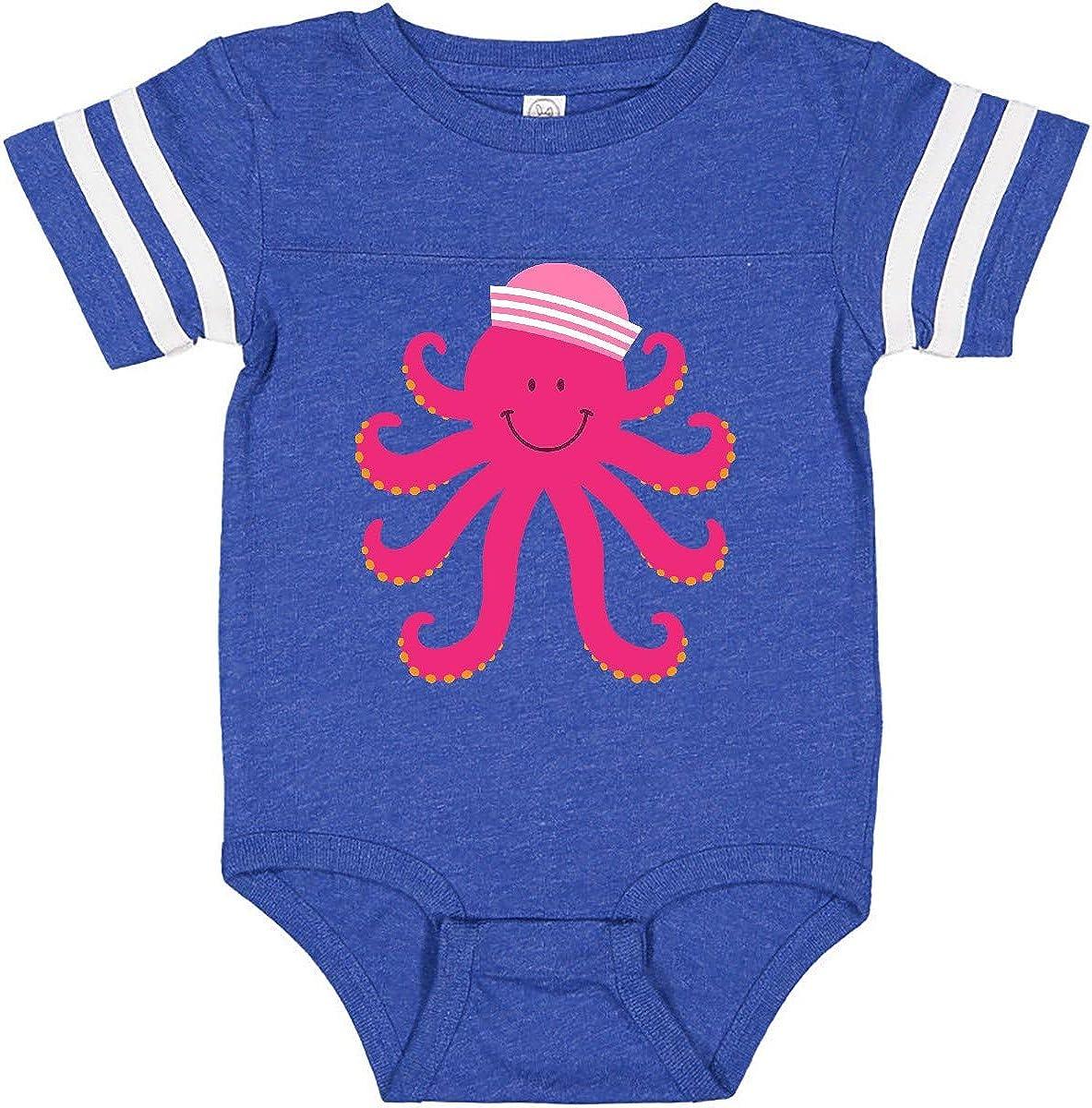 inktastic Octopus Ocean Sea Creature Girls Infant Creeper