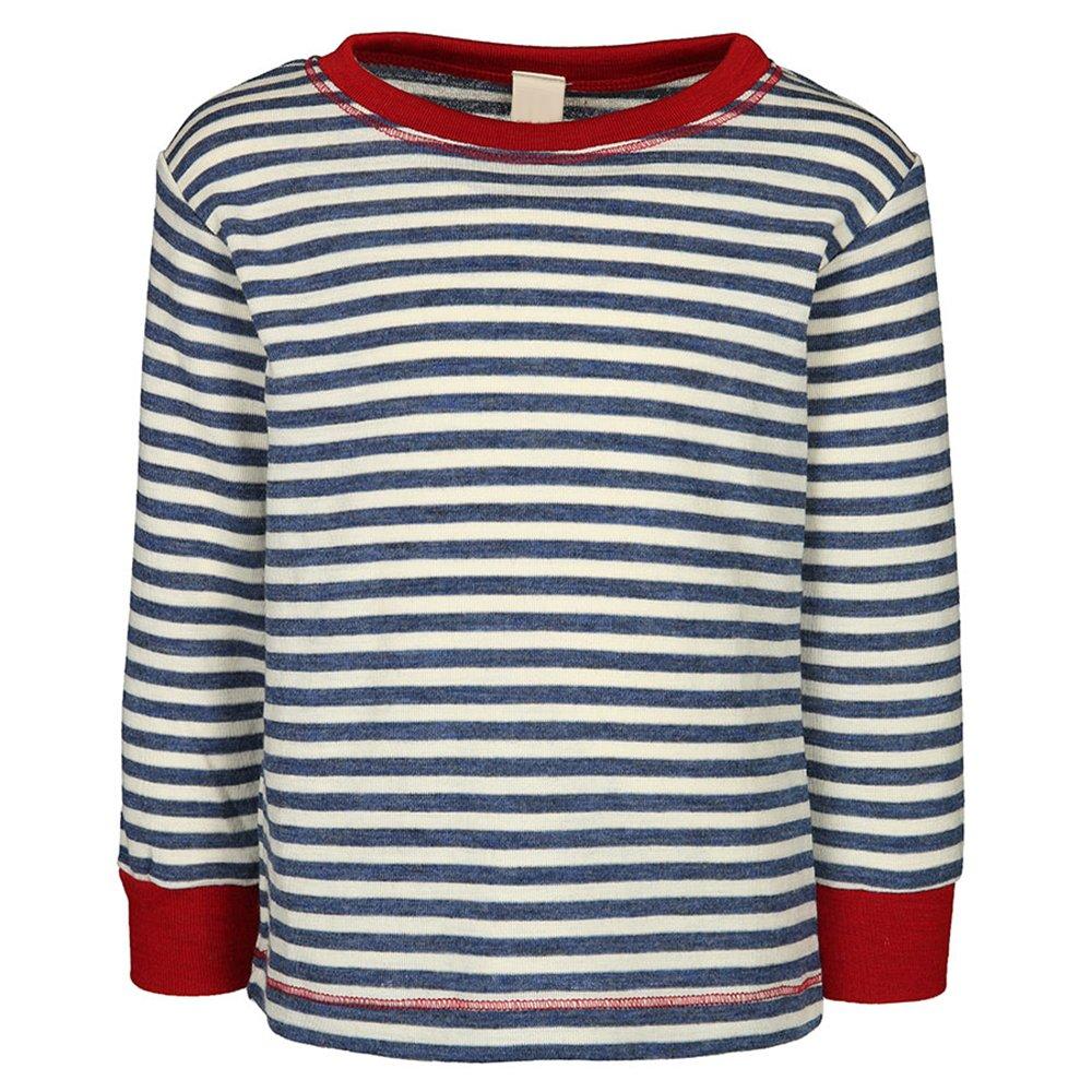 EcoAble Apparel Kids Long Sleeve Thermal Shirt Sweater 100/% Organic Merino Wool Sizes 2-8 years Engel